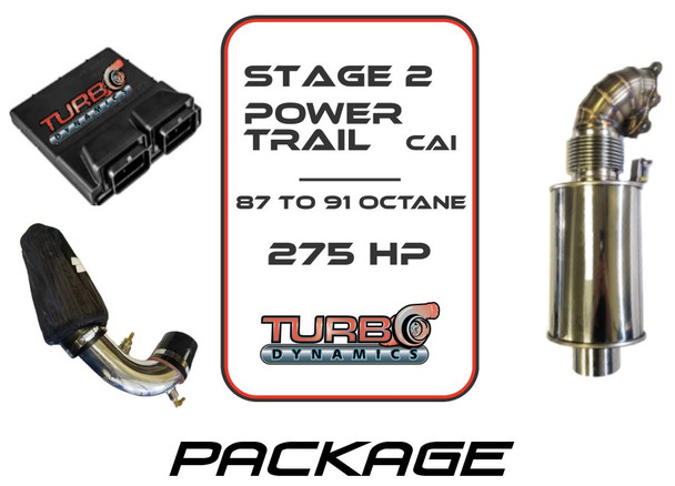 TD Stage 2 Powertrail Performance Package for Arctic Cat ZR9000 / Thundercat