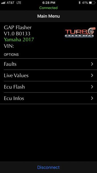 TD  ECU flasher and datalogger for 2017 to 2020 Sidewinder SRX Thundercat ZR9000