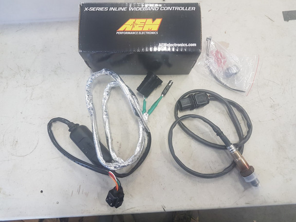 AEM Wideband O2 module (pre-wired and plug in) for closed loop, flasher or dash flash