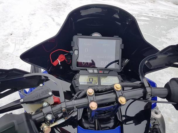 IPAD Mini 4 waterproof casing  and Bracket Kit for SRX Sidewinder / Thundercat ZR9000