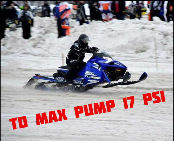 TD max pump 17psi ECU reflash 285HP  (93 octane +)