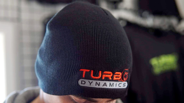 Turbo Dynamics embroided Toque (tuque)