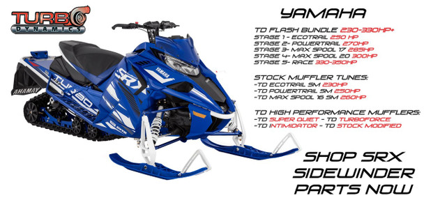 TD Stage 1 Ecotrail SM 230HP package (for 100% stock sled) 87-91 oct