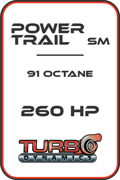 TD STAGE 2 Powertrail SM 250HP package (For stock muffler)