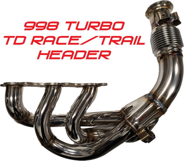 TD racing and trail header (also fits stock tank)