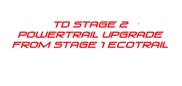 TD BRP 900 Ace Turbo Stage 2 Powertrail tune  upgrade from stage 1 Ecotrail