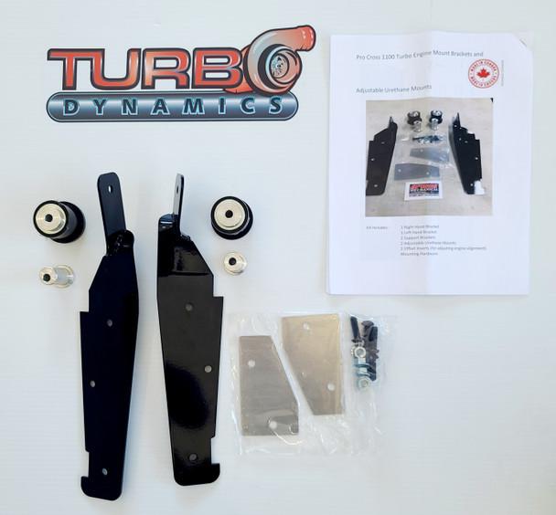 Hi-Tech®  Heavy Duty adjustable engine mount for 1100 Turbo snowmobile  2012-2016 ( F1100 xf1100 m1100)