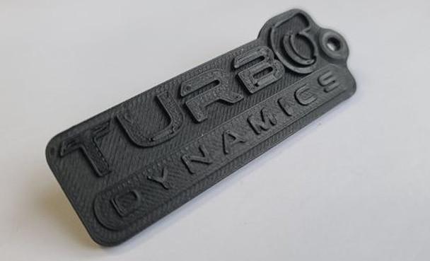 Turbo Dynamics Carbon Fiber Composite Key Chain