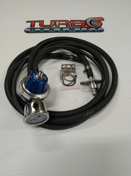 TurboSmart Adjustable Fuel pressure regulator KIT for 2017 to 2021 Yamaha Sidewinder SRX and Thundercat ZR9000