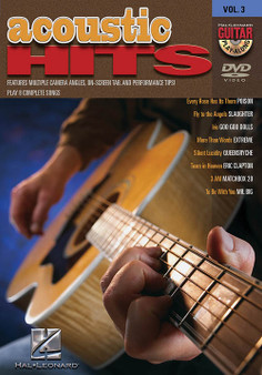 Acoustic Hits Guitar Play-Along DVD