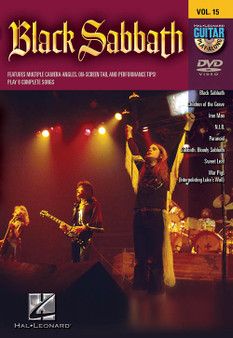Black Sabbath Guitar Play-Along DVD Volume 15