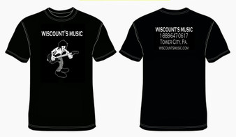 Wiscount's Music T-Shirt