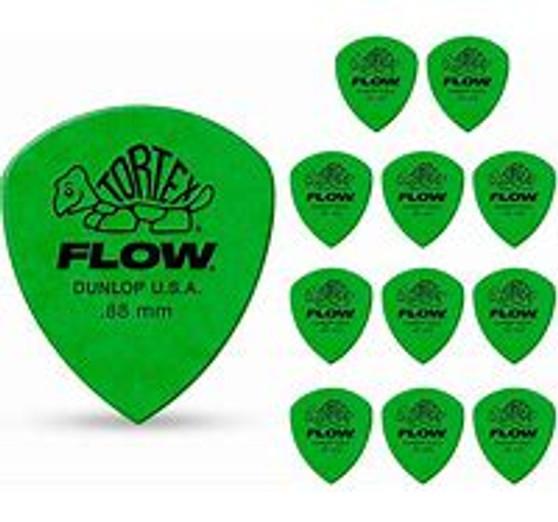 Dunlop Tortex Flow Picks 12 Pack