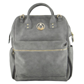 """New look, with a new logo! Back and better than ever!! Our brand new Byron Backpack is the ultimate """"Hands Free"""" option for mums on the go!"""