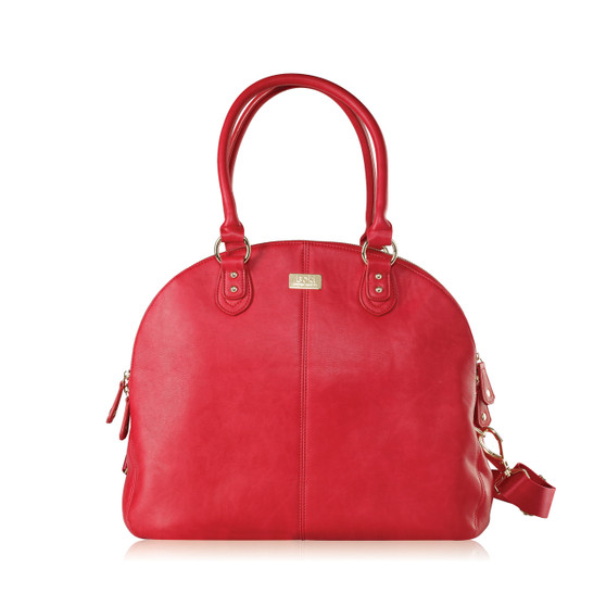The Madame Polly Nappy Bag is a popular Isoki baby bag that is perfect for mums with twins or older children, or mums who desire a super chic and stylish nappy bag.
