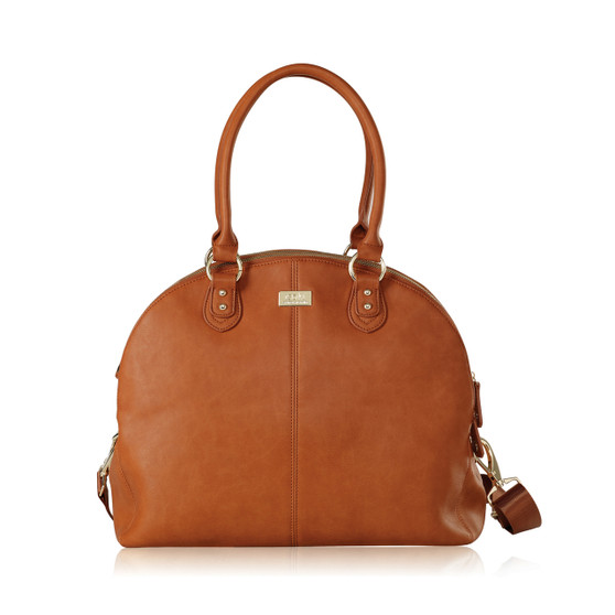 The Madame Polly Nappy Bag is perfect for mums with twins or mums who simply prefer a super chic and roomy nappy bag.