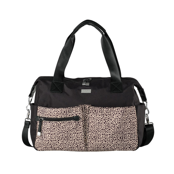 Compact and lightweight - a super functional nappy bag for mums on the move.