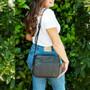 Finley Crossover Bag - Black Mumba