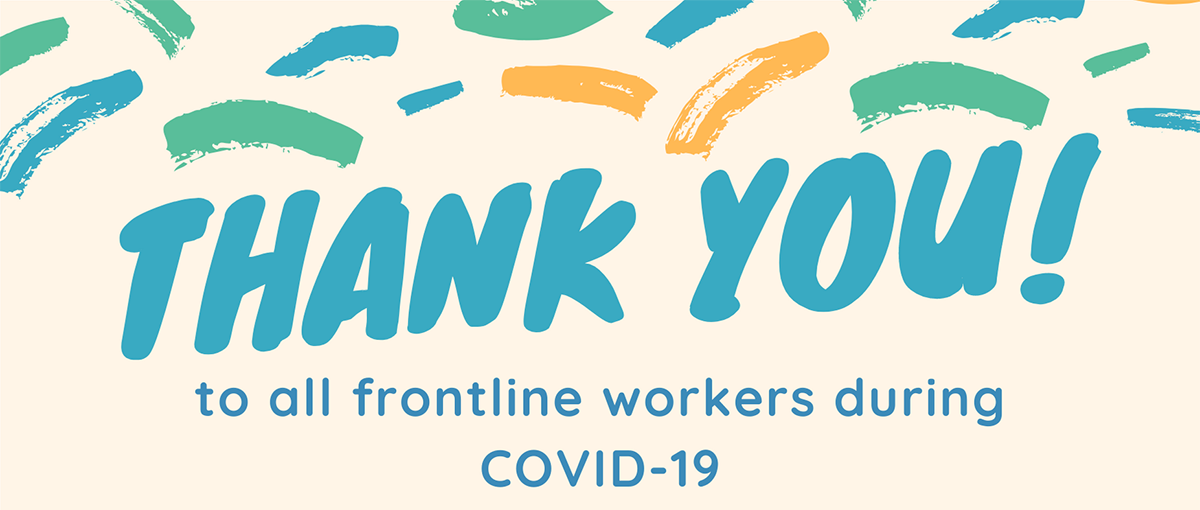 frontline worker thank you