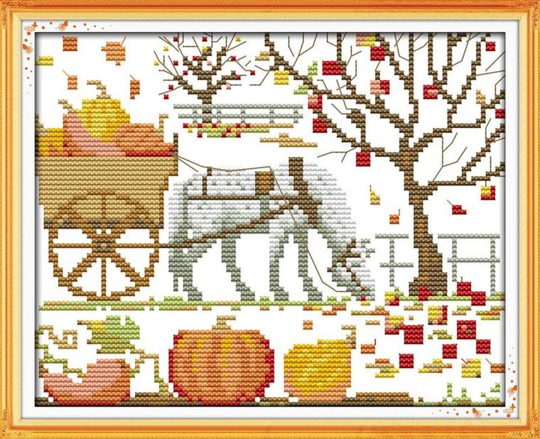 Magical Pumpkin Cart