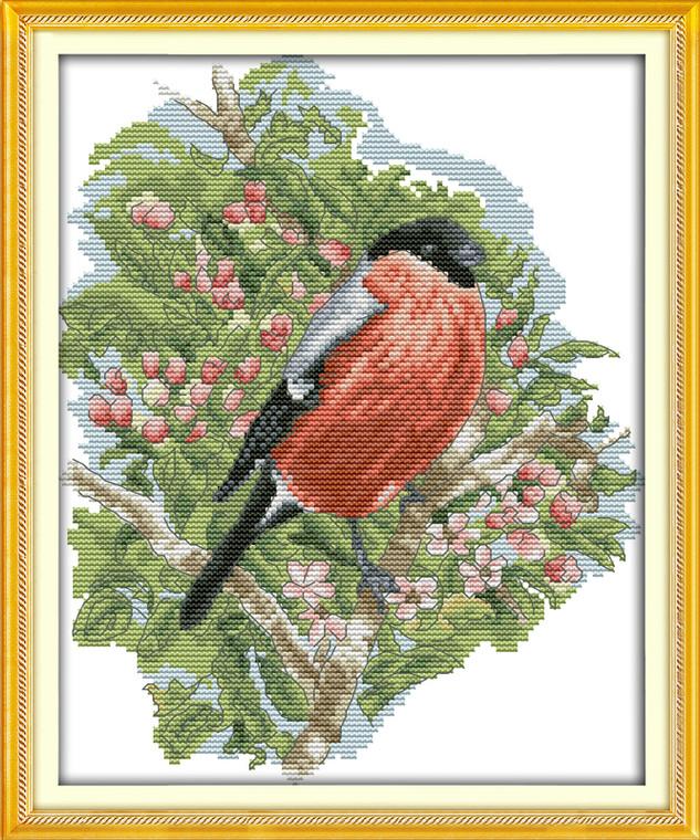 Cross stitch kits - Bullfinch