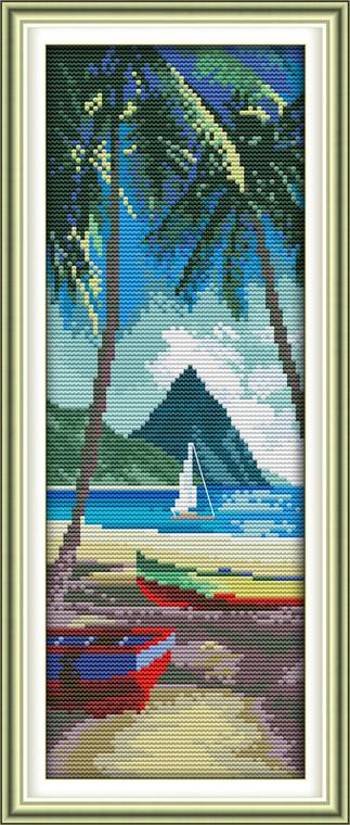 Cross Stitch Kits - Aegean Sea Thailand