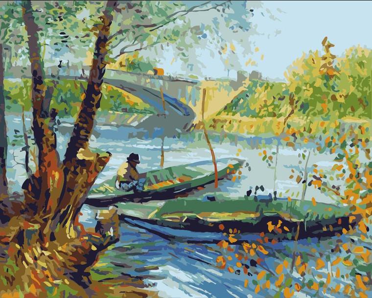 Fishing in Spring by Van Gogh