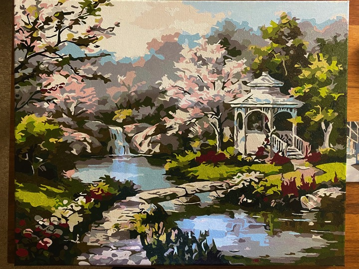 Paint by Numbers - Amazing Garden by Sharon Edwards