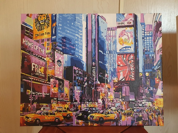 Paint by Numbers - Big Apple by Novita L
