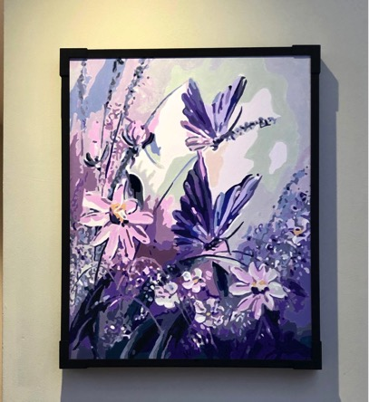 Paint by Numbers - Butterflies by Techie Cruz