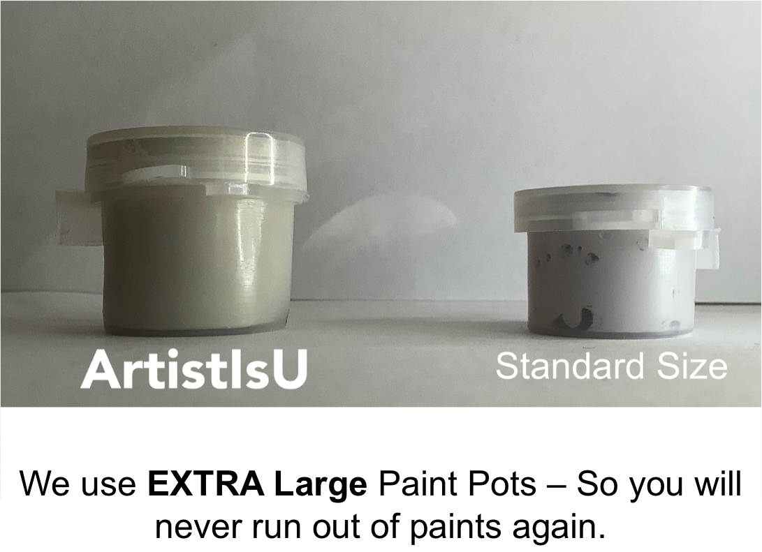 Paint by Numbers Kits - Extra Large Paint Pots