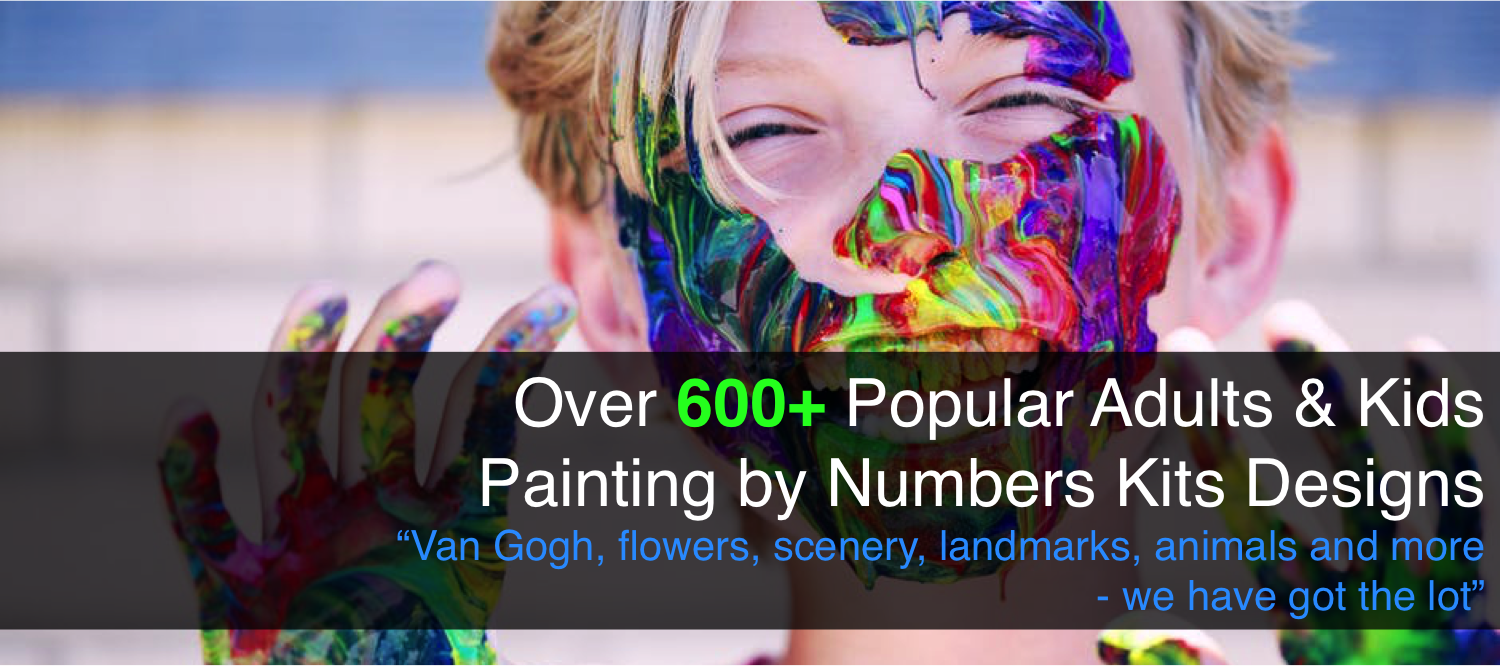 Paint by Numbers - Australia Leading Paint by Numbers Supplier