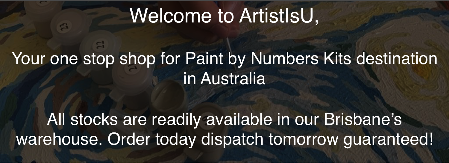 One stop shop for Paint by Numbers Kits destination in Australia