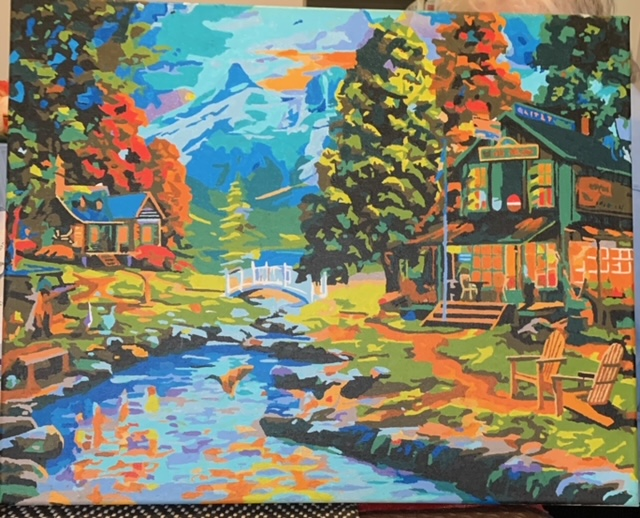 Paint by Numbers - Lake Retreat by Bob McPhan