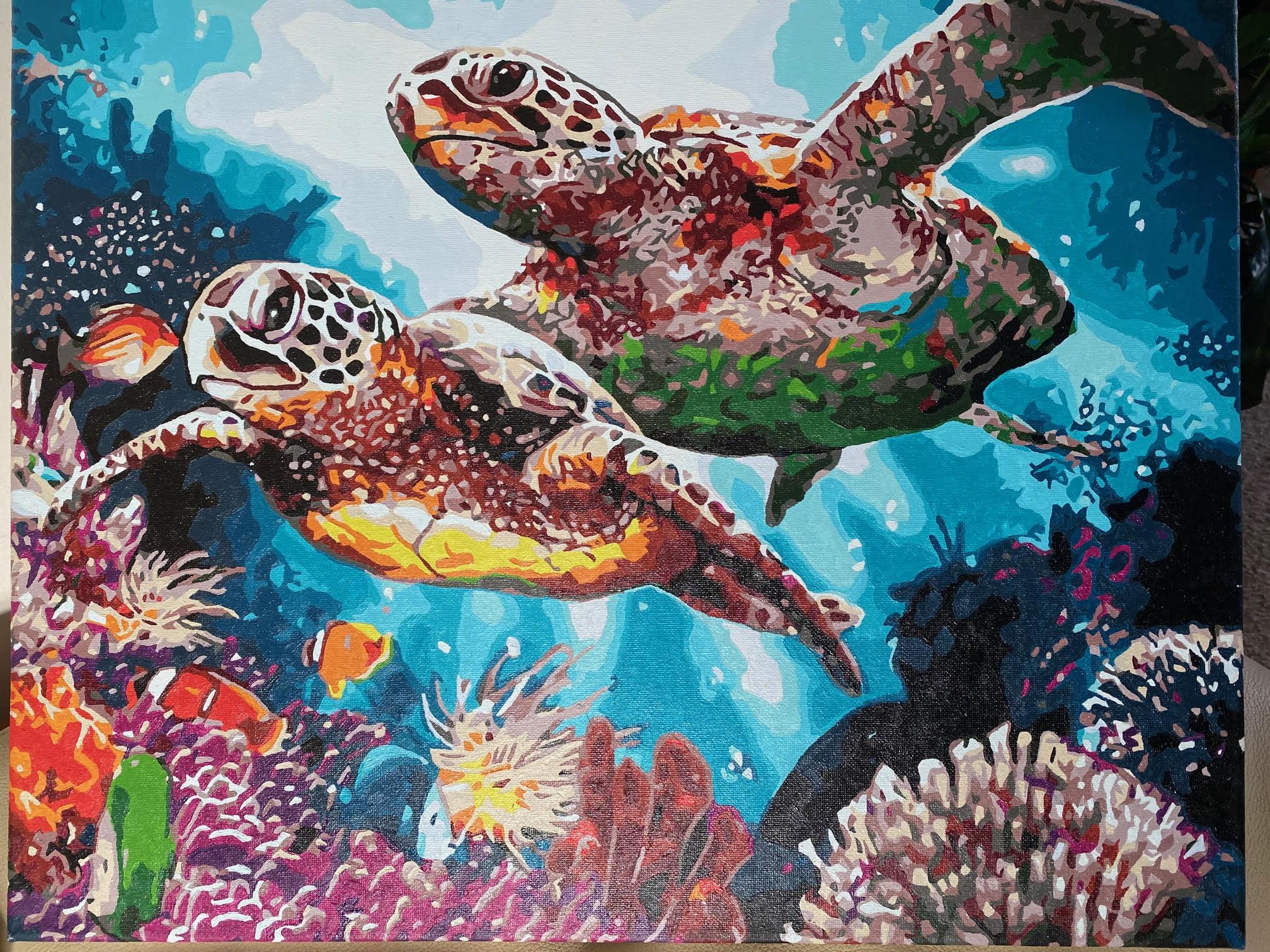 Long Life Turtles by Sharon Edwards