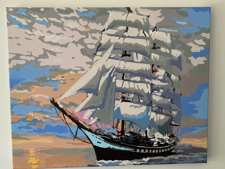 Paint by numbers - Royal Clipper by Geoff