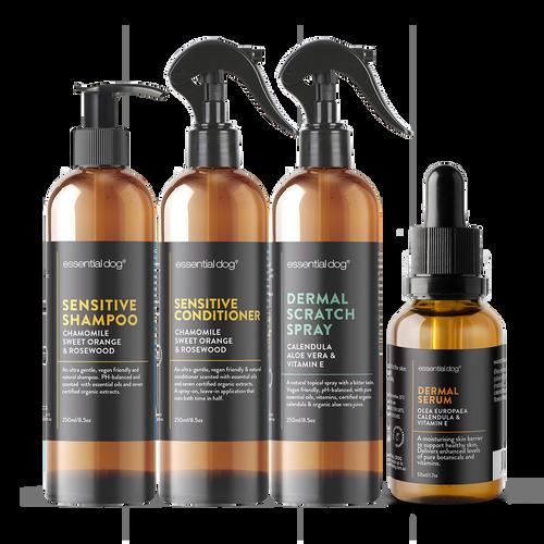 anti itch spray dogs sensitive shampoo dermal serum