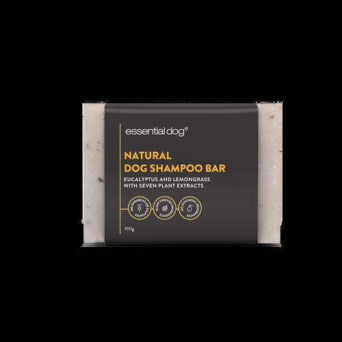 Solid Dog Shampoo Bar: Neem Seed, Lemongrass and Eucalyptus