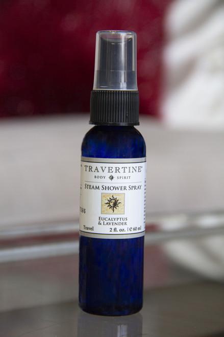 Eucalyptus + Lavender Steam Shower Spray (2oz)
