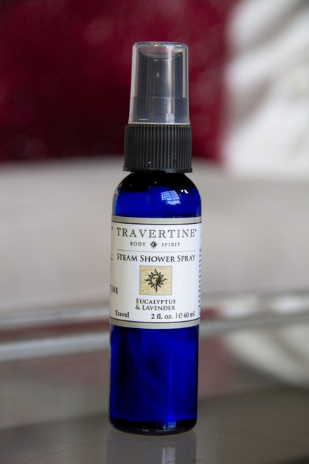 Eucalyptus + Lavender Steam Shower Spray (2oz)