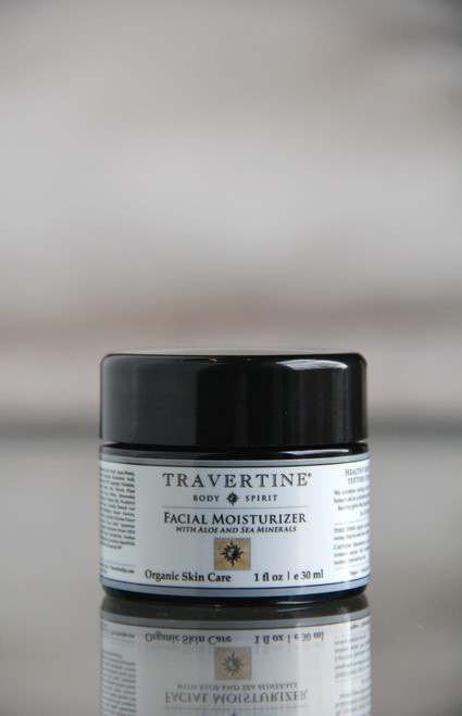 Facial Moisturizer (with Aloe and Sea Minerals)