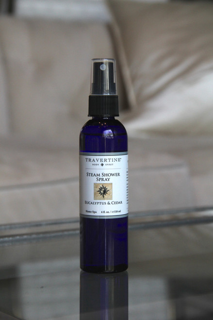 Eucalyptus and Cedar Steam Shower Spray