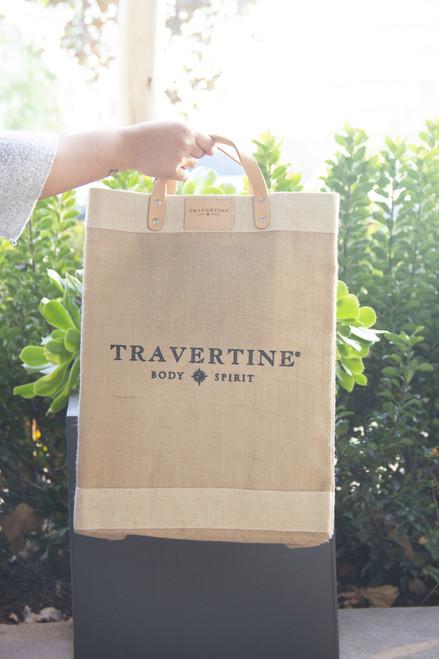 Travertine x Apolis Market Bag