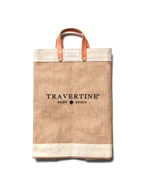 Travertine x Apolis Market Bag