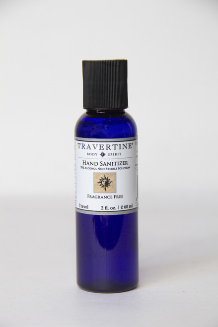 Hand Sanitizer by Travertine Spa Collection