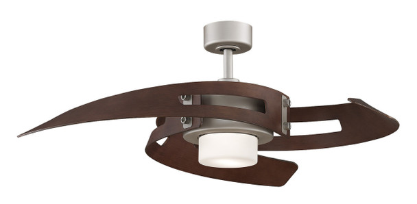 FANIMATION - AVASTON: 72 WATTS SATIN NICKEL (CLICK TO VIEW DETAILS OR CALL FOR FREE EXPERT ADVICE & PRICING)
