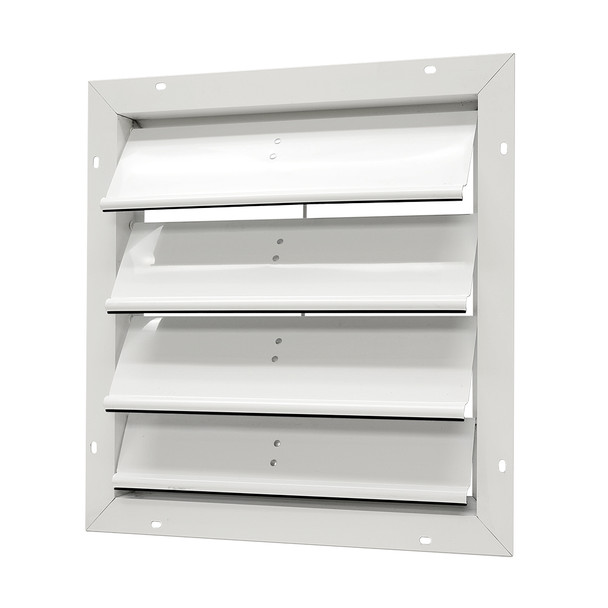"Aluminum Gable Mount Automatic Shutter - 20"" SGM20 (CLICK TO VIEW DETAILS)  (CALL FOR FREE EXPERT ADVICE)"