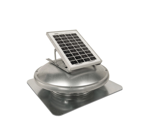 Green Machine Roof Solar Vent (500 CFM) Master Flow ERVSOLAR (CLICK TO VIEW DETAILS)  (CALL FOR FREE EXPERT ADVICE)