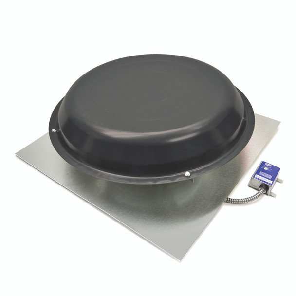 Roof Mount Attic Fan Black (1250 CFM) Master Flow ERV5BL (CLICK TO VIEW DETAILS)  (CALL FOR FREE EXPERT ADVICE)