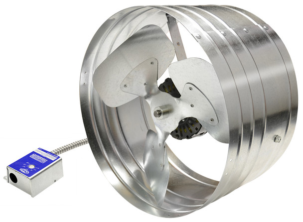 Gable Attic Fan (1600 CFM) Master Flow EGV6 (CLICK TO VIEW DETAILS)  (CALL FOR FREE EXPERT ADVICE)